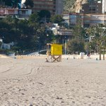Lifeguard Station on Poniente Beach