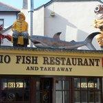 A fish shop in Brixham