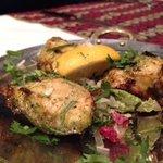 Succulent Chicken Tikka starter