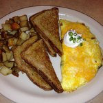 Great Omlet! Great coffee!