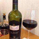 Toller Ciro Wein aus Calabrien.