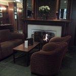 Pleasant reception area
