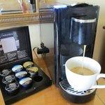 コーヒーマシンあり