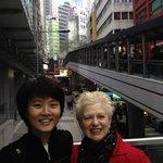 With Ski in Hong Kong