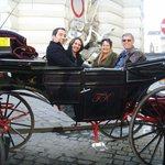 Carriage ride through old Vienna