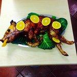 Traditional Portuguese roast pork