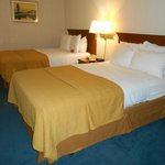 Two double beds room