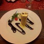 Icecream passionfruit (homemade) - very good