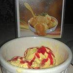 alphonso (mango) ice cream