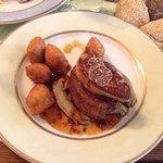 tornado steak with foiegras and truffle
