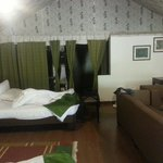 Tent house interiors
