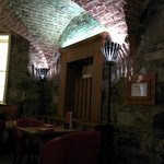 Cellar dining room and bar (Soup... do not miss the soup. Didn't seem to matter which soup. GREA