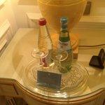 Mineralwasser aufm Zimmer, kostenlos