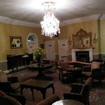 Just one of the receiving rooms. Dressed for high-tea, breathtaking - sophisticated evening drin