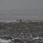 Sicht auf Hotel (Winter