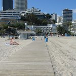 Boardwalk onto Poniente Beach