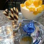 mango yogurt cup