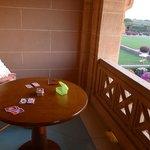 Terrassenblick der Royal Suite