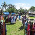 Local market in Pango Village, easy walk. Great spot.