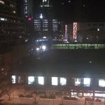 View from the room to Makati