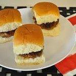 100% Beef Burger Sliders