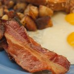 Egg Platter with Bacon