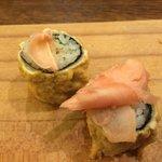 Ebi Tempura Roll - Sushi Toria - March 2014