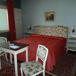 Big room, big bed, big radiator :-)
