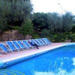 Relax serale in piscina!
