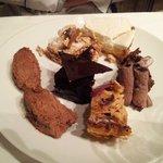 Mon choix sur le chariot de dessert ... Quel choix ! ! !