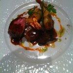 veau, crevettes, pommes de terre. Somptueux !!