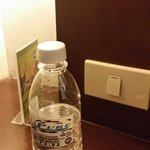 The bottle of water I bought for 27.5 peso (almost 60 US cents or 1 singapore dollar)