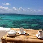 pause café /thé après avoir nagé