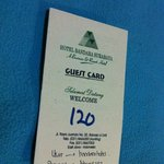 room card