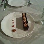 peanut chocolate dessert