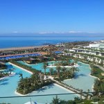 View from Room 1656 towards Mountains near Antalya