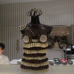Chocolate sculpture in new Maxx Royal Chocolatier