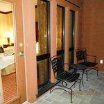 Balcony on Suite