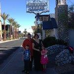 Graceland Storybook Wedding Chapel sign & entrance