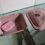 Nice rusty soap dish!