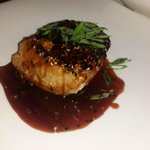 Yellow fin Tuna on Teriyaki sausace