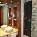 ванная комната - очень понравилась!