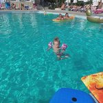 My daughter gained confidence to swim