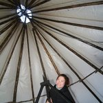 Inside The Sami Tent