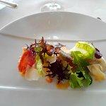 salade cesar à la saint jacques