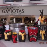 Gaviotas - great b'fast and lunch!