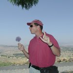 while guiding on the Golan Heights