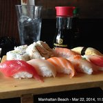This is the sushi part of the lunch special