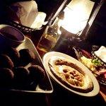 Falafel, humus deliciosos!!!