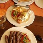 Balkan Sarma, Karadjordjeva Snicla and Cevapcici - for the hungry!! :)